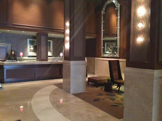 The Benjamin : more of the lobby