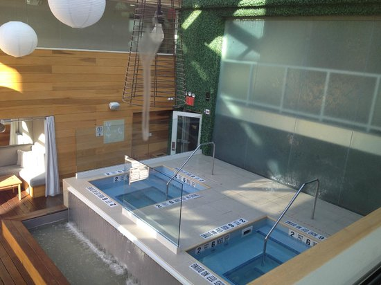 The Out NYC: Jacuzzi area