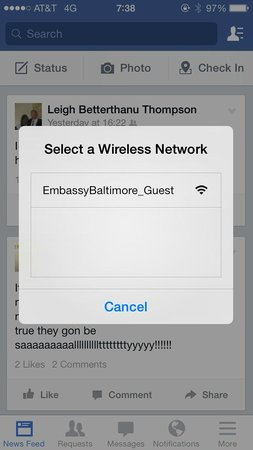 Embassy Suites by Hilton Baltimore - Inner Harbor: WiFi