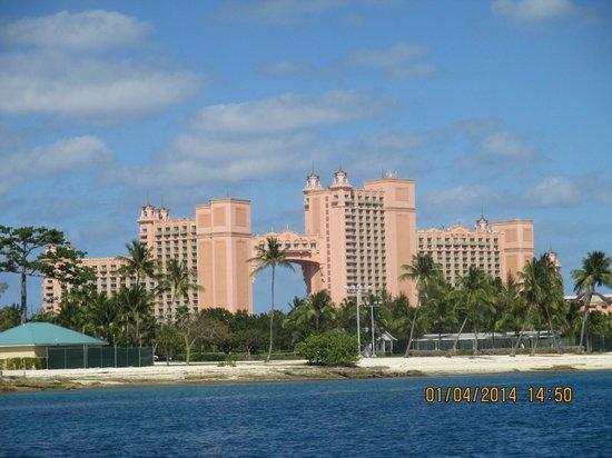 Melia Nassau Beach - All Inclusive: Atlantis from the Ferry