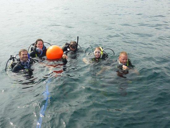 Galapagos Tip Top Dive & Training : diving