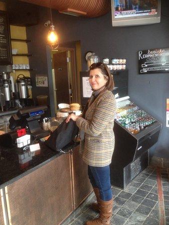 Ebenezers Coffeehouse: Love this place