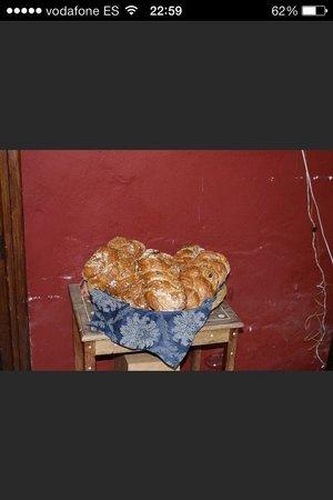 Casa Mazal - Juderia : Pane fatto in casa