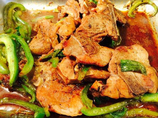 Hibachi Buffet and Sushi Bar: Peking pork Chop