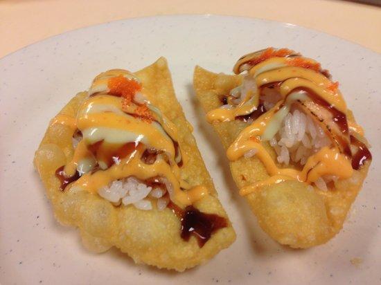 Hibachi Buffet and Sushi Bar: Asian Sushi Taco