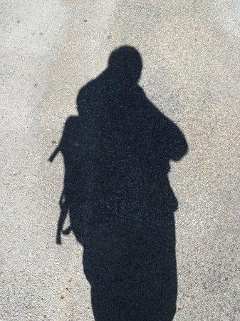 La Citadelle de Besançon : My shadow