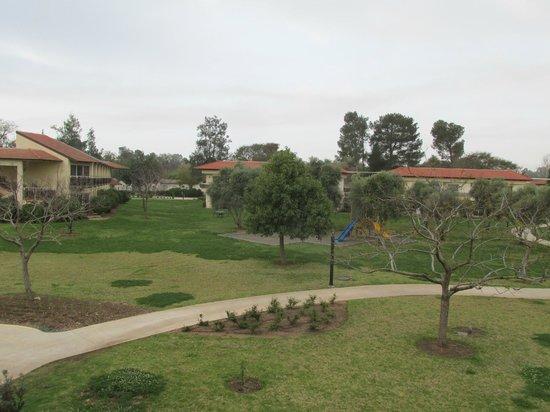 Pastoral Hotel - Kfar Blum: View from 2nd floor room