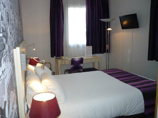 Qualys-Hotel Nanterre La Defense: Comfortable rooms