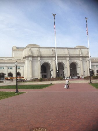 Union Station : Beauty, history and near the Capitol as well