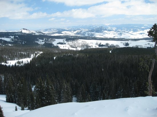 Steamboat Snowmobile Tours: on the continental divide