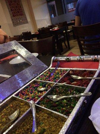 Sanskruti Restaurant: Post dinner sweets