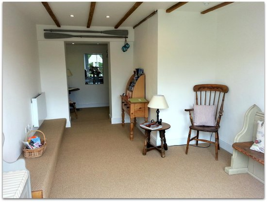 Yeoman's Acre Bed & Breakfast : The Lobby