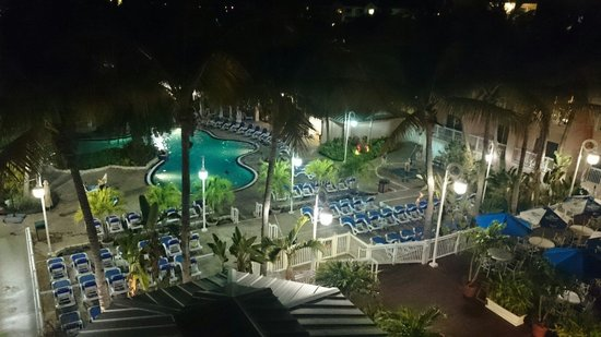 DoubleTree by Hilton Hotel Grand Key Resort - Key West: View from the 4th floor