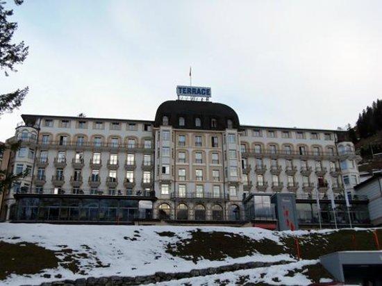 Hotel Terrace: Front side