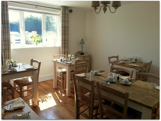 Colyford, UK: The Breakfast room