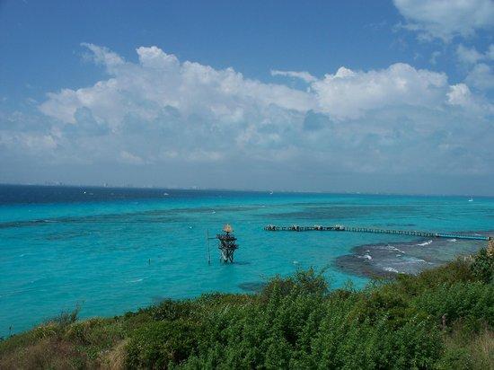 Garrafon Natural Reef Park : Paisaje increible, un paraiso.
