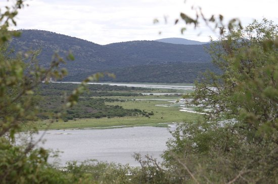 Nkwazi Lake Lodge : Excellent view from the verranda