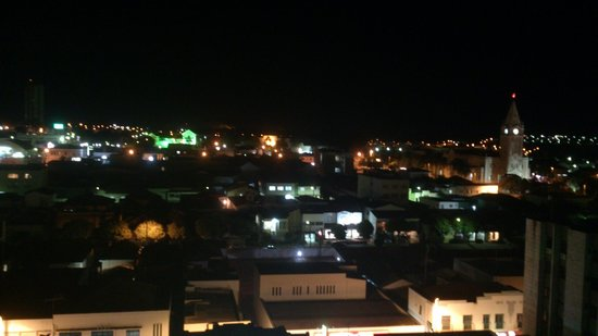 Plaza Inn Flat Araxa: Vista da cobertura