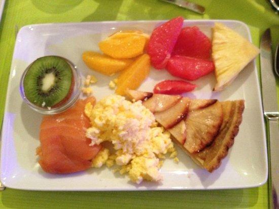 Seven Hôtel Paris : My daily breakfast