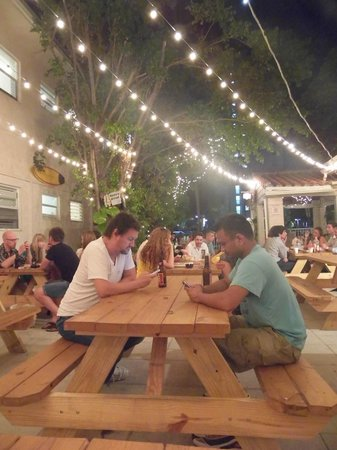 Festa Picture Of Bikini Hostel Cafe Beer Garden Miami Beach Tripadvisor