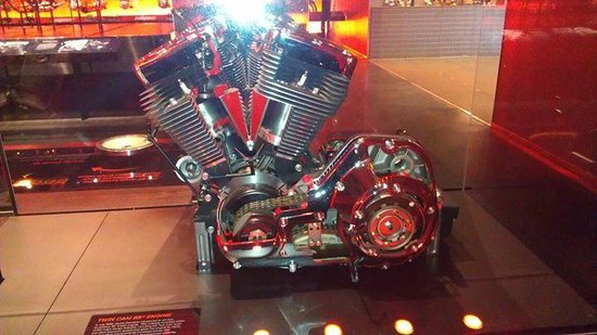 Interactive motor sounds picture of harley davidson for Motor harley davidson museum