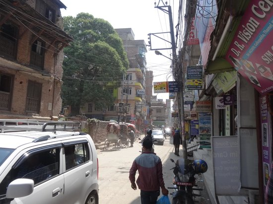 Thamel: Polluted