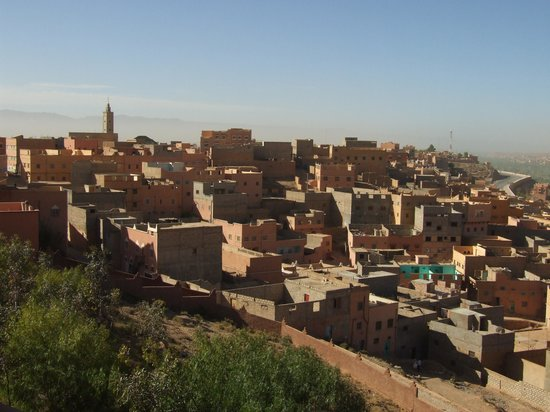 Hotel Xaluca Dades : Panorama dalla bellissima terrazza dell'hotel