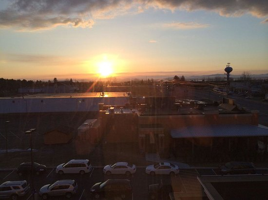 Hampton Inn & Suites Plattsburgh: Morning view from room 515