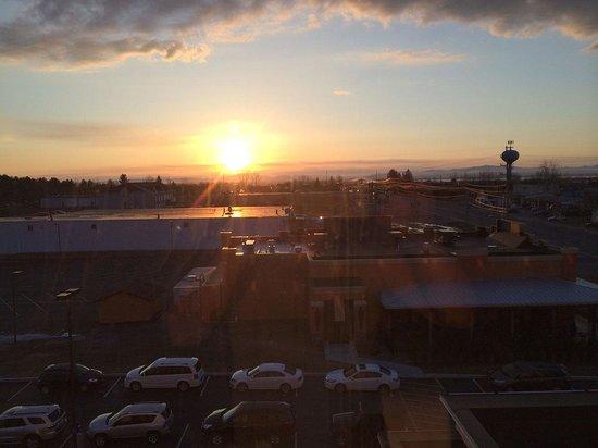 Hampton Inn & Suites Plattsburgh : Morning view from room 515