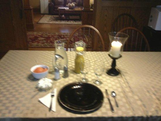 Horton House Bed & Breakfast : Breakfast