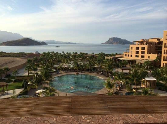 Villa del Palmar Beach Resort & Spa at The Islands of Loreto: View from our room #2518.