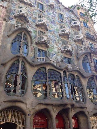 Passeig de Gràcia : Le bellezze del Gaudi'.
