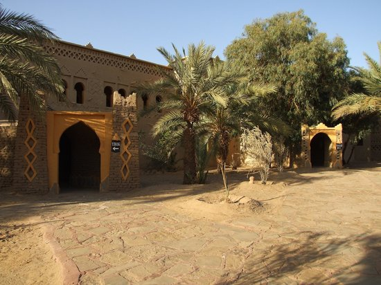 Kasbah Hotel Tombouctou: Parte interna