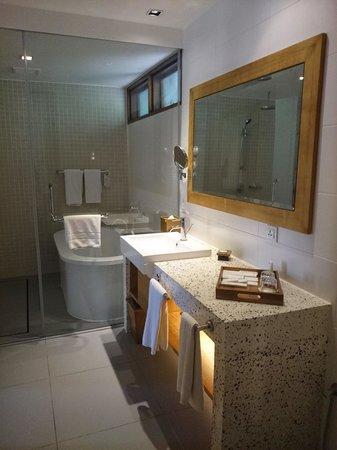 Large bathroom area