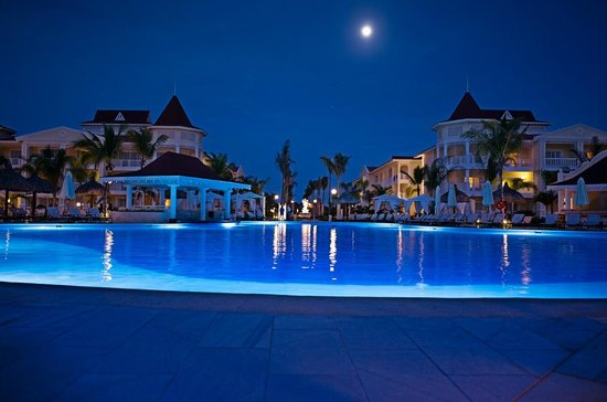 Luxury Bahia Principe Bouganville Don Pablo Collection: just before retiring to the room