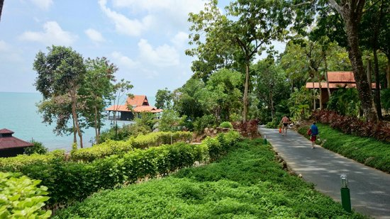Berjaya Langkawi Resort - Malaysia: Lovely walking paths and well maintained gardens