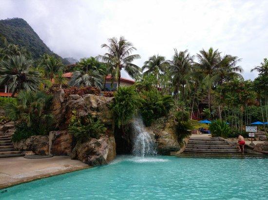 Berjaya Langkawi Resort - Malaysia: View of the pool area
