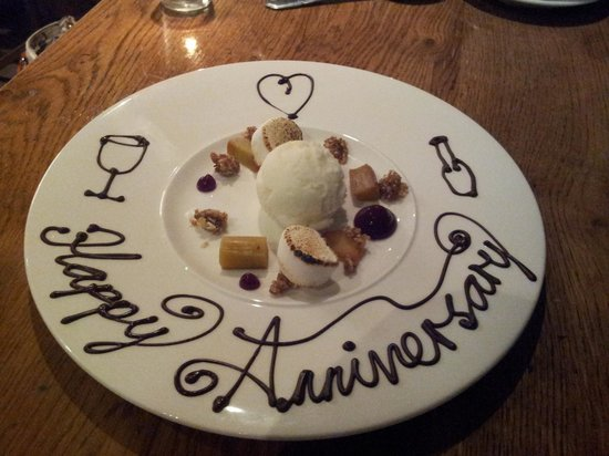 The Bunk Inn: Little gesture from the chef