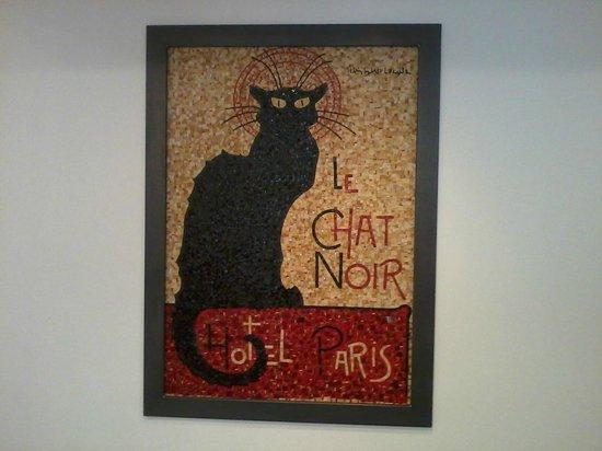 Le Chat Noir Design Hotel: stanza colazione