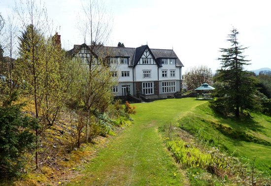 Lindeth Howe Country House Hotel : Lindeth Howe from the top garden