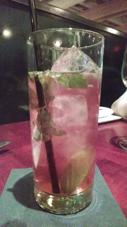 Salty Sow: Pomegranate Mojito