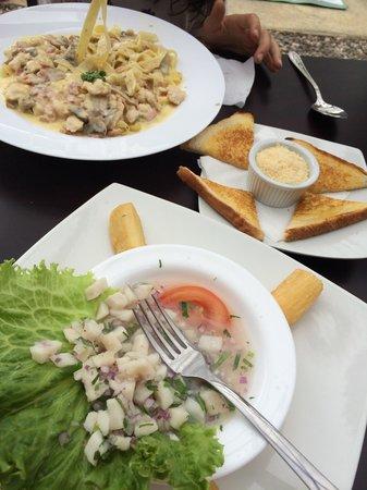 Restaurante Rams: Buena comida ;)