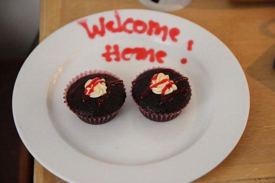 Club Paradise Palawan : Welcome treats