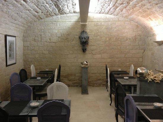 Des Ducs d'Anjou : Dining area