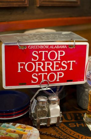 Bubba Gump Shrimp Co: Stop forrest