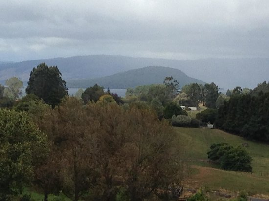 Doolan's Country Retreat: View of Rotorua and lake