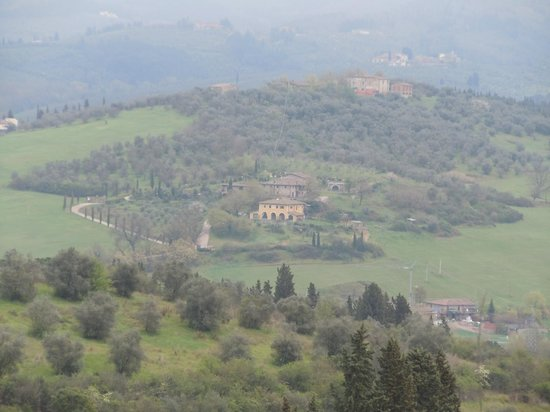 Cook Eat Italian: Beautiful view of Tuscany on the drive