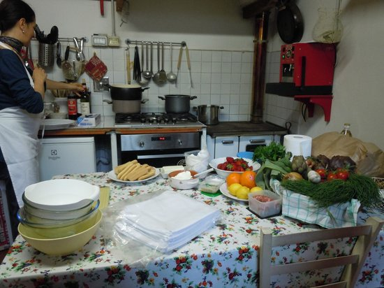 Cook Eat Italian: The kitchen at the winery