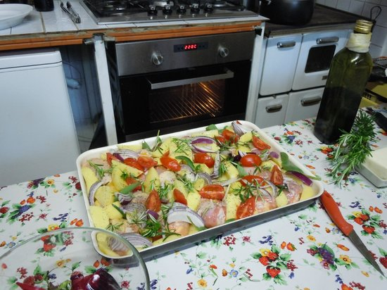 Cook Eat Italian: Prep for the roasted chicken