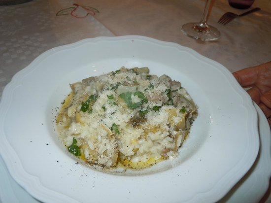 Cook Eat Italian: Risotto with fresh artichokes and sausage
